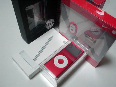 iPod nano (PRODUCT) RED Special Edition とか