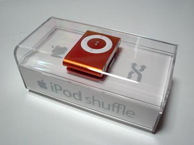 iPod shuffle(Orange)