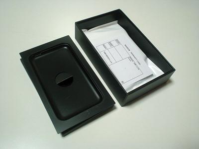 iPod touchの白い袋