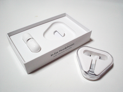 Apple In-Ear Headphones with Remote and Mic