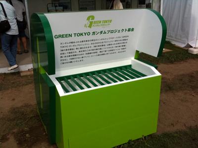 GREEN TOKYO ガンダムプロジェクト基金