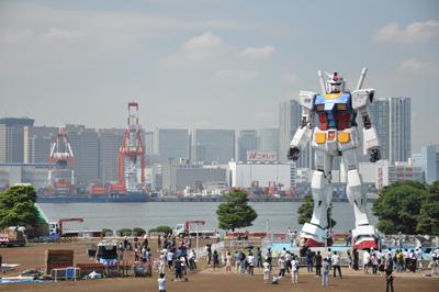 「GREEN TOKYO ガンダムプロジェクト」終了翌日