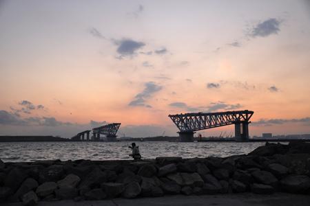 東京港臨海大橋(仮)遠景