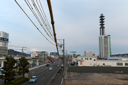 ないガンダムと富士山