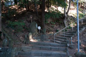 谷津山ハイキングコース入り口