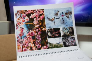 iPhotoカレンダー