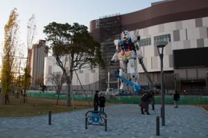 ダイバーシティ東京のガンダム