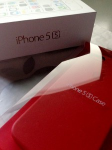 iPhone 5sとケース