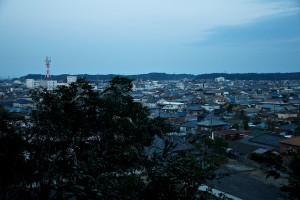 佐原の町の眺め